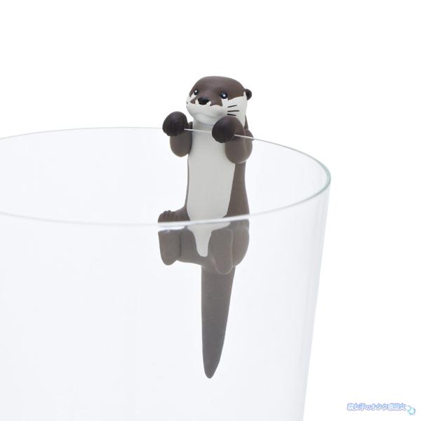 池袋サンシャイン水族館×コップのフチ子コラボ コツメカワウソ