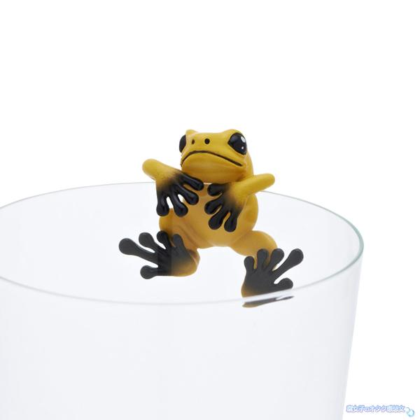 池袋サンシャイン水族館×コップのフチ子コラボ モウドクフキヤガエル