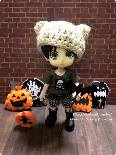 セリア インテリアオブジェ・ハロウィンコレクション 蝙蝠ピックとかぼちゃオブジェ オーナメントとの使用でハロウィン感アップ