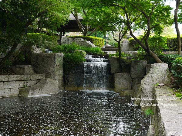 浅野恭司×WIT STUDIO原画展2016 古河歴史博物館周辺の風景