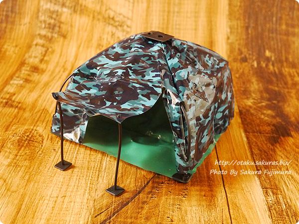ガチャガチャ 1/12サイズ「THE テント」  テントB 組み立て完成