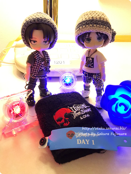 「VISUAL JAPAN SUMMIT 2016」ホテルで1日目行ってきた