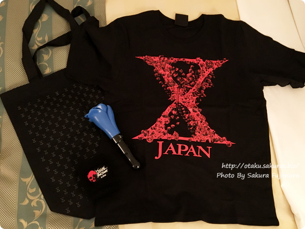 「VISUAL JAPAN SUMMIT 2016」1日目行ってきたレポ(2016/10/14) 購入したグッズ