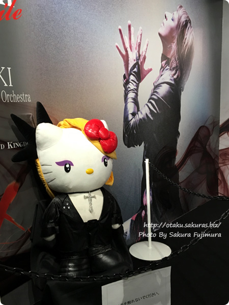 「VISUAL JAPAN SUMMIT 2016」 YOSHIKIブース その2