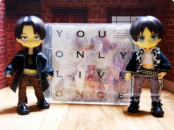 YURI!!! on ICE feat. w.hatano『You Only Live Once』DVD付き限定盤 進撃オビツろいど