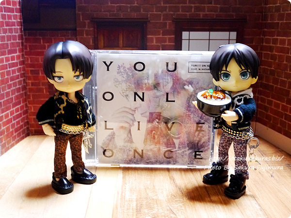 YURI!!! on ICE feat. w.hatano『You Only Live Once』DVD付き限定盤 進撃オビツろいどとカツ丼