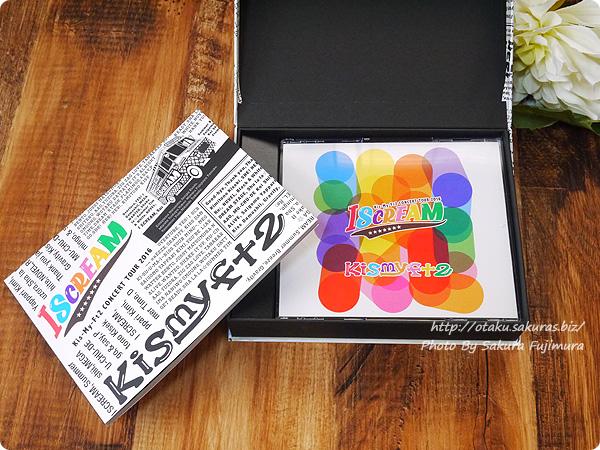 キスマイ初回生産限定盤DVD Kis-My-Ft2「CONCERT TOUR 2016 I SCREAM」 DVDとフォトブック
