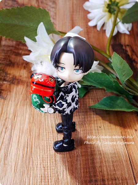 100円ショップで買った新春祝い飾り・ミニ獅子舞 オビツろいど(オビツ11ボディ) その1