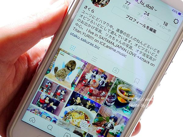 オビツろいど&オタ活写真アップ用Instagram