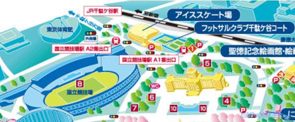 佐賀県×ユーリ!!!on ICEコラボイベント「サーガ!!! on ICE 」 東京会場地図