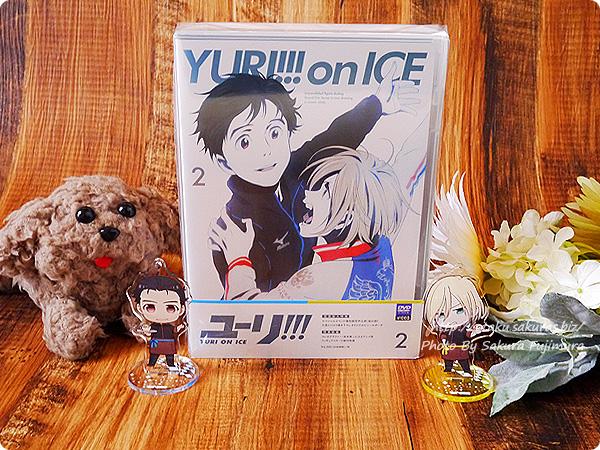アニメ「ユーリ!!! on ICE」Blu-ray&DVD第2巻 パッケージ表