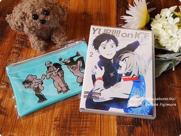 アニメ「ユーリ!!! on ICE」Blu-ray&DVD第2巻 封入内容