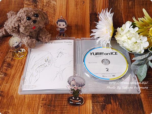 アニメ「ユーリ!!! on ICE」Blu-ray&DVD第2巻 円盤デザインと特製ブックレット