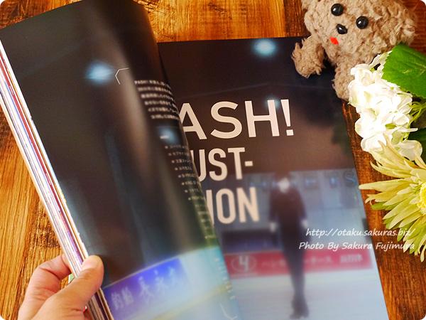 アニメ雑誌「PASH! ILLUSTRATION FILE 2017」スペシャルムック 『ユーリ!!! on ICE』ちらっと見せ