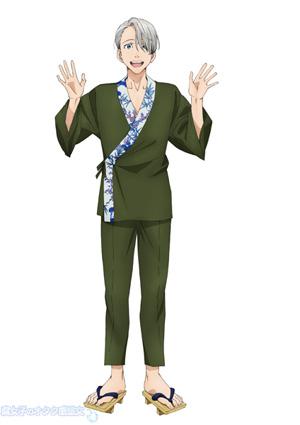 佐賀県 × ユーリ!!!on ICE「サーガ!!! on ICE 」描き下ろしイラスト ヴィクトル・ニキフォロフ×伊万里鍋島焼