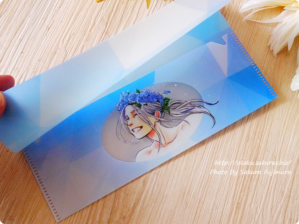 アニメ「ユーリ!!! on ICE」Blu-ray&DVD3巻 封入特典:久保ミツロウ描き下ろしチケットケース 若ヴィクイラスト