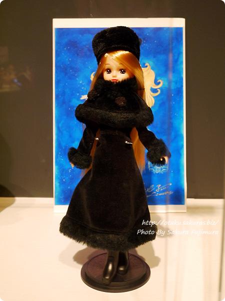 松屋銀座・誕生50周年記念「リカちゃん展」牧美也子  「銀河鉄道999」メーテル コラボリカちゃん