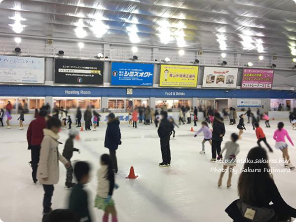 佐賀県×ユーリ!!! on ICE アイスキャッスルはせつになった明治神宮外苑アイススケート場の様子