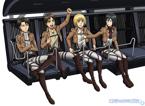「進撃の巨人×富士急ハイランド」 日本初上映フライトシミュレーションライド「進撃の巨人 THE RIDE」