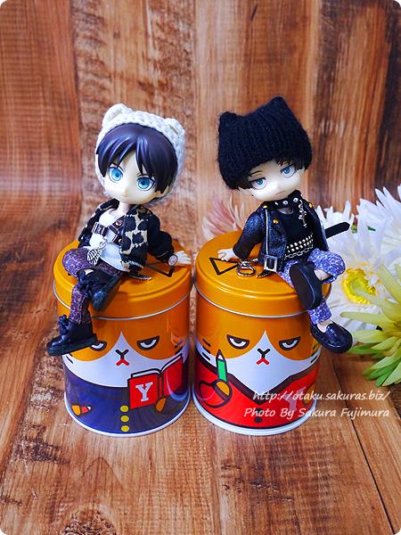 Y!mobile(ワイモバイル)「ふてニャン ヤング缶」全2種類と進撃オビツろいど その2