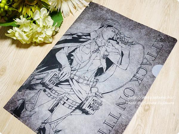 【セブンイレブン限定】進撃の巨人オリジナルデザインA4クリアファイル エルヴィン