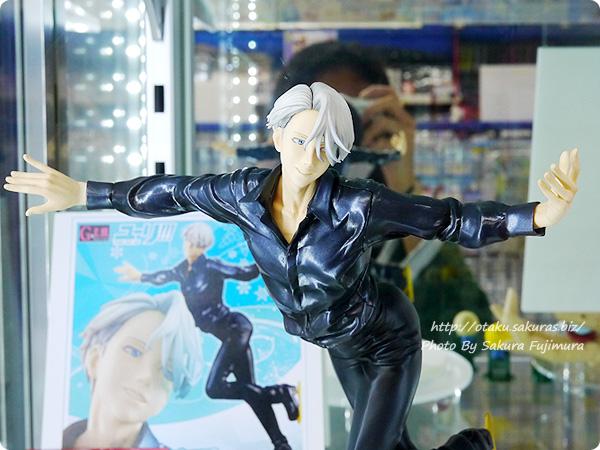 メガハウスG.E.M. ユーリ!!! on ICE ヴィクトル・ニキフォロフ アニメイト池袋本店 展示 上半身