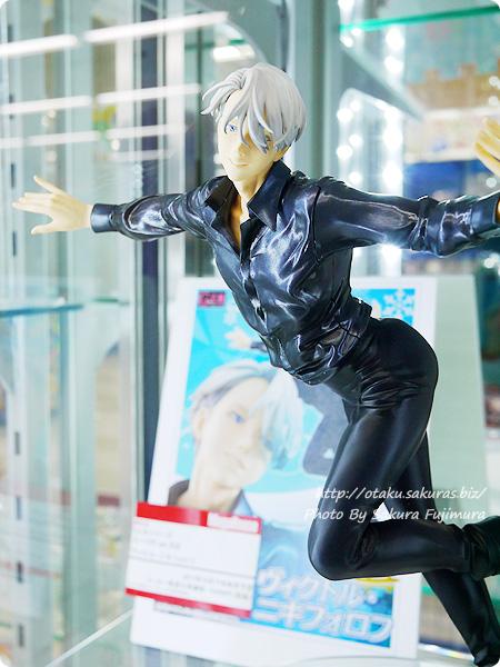 メガハウスG.E.M. ユーリ!!! on ICE ヴィクトル・ニキフォロフ アニメイト池袋本店 展示 アップ