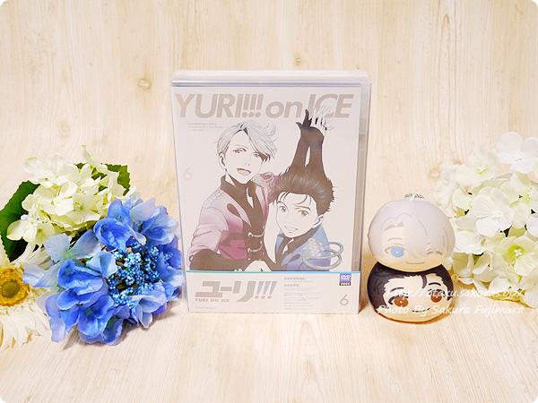 アニメ「ユーリ!!! on ICE」Blu-ray&DVD第6巻 パッケージ表