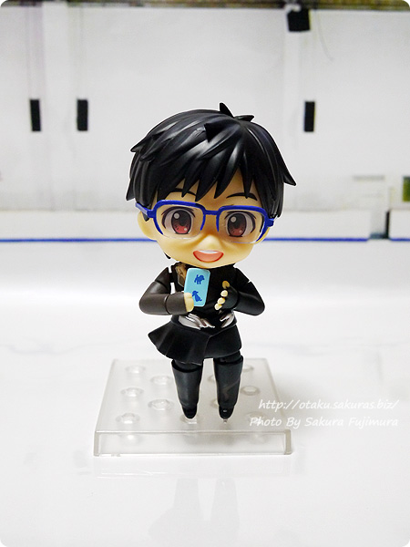 ユーリ!!! on ICE「ねんどろいど勝生勇利」笑顔+スマホ