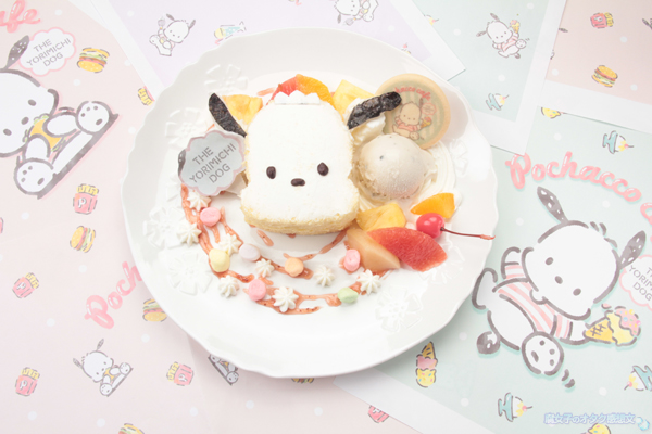 「ポチャッコカフェ」メニュー ポチャッコのハッピープレート 1,404円(税込)