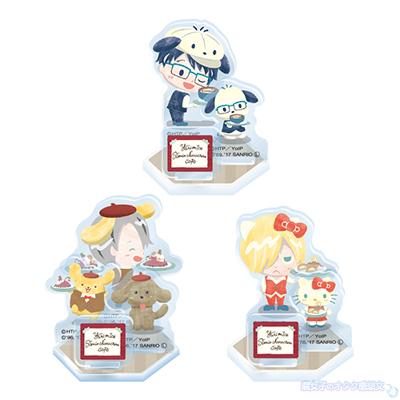 Yuri on Ice×Sanrio characters Cafe  アクリルスタンド全3種ランダム