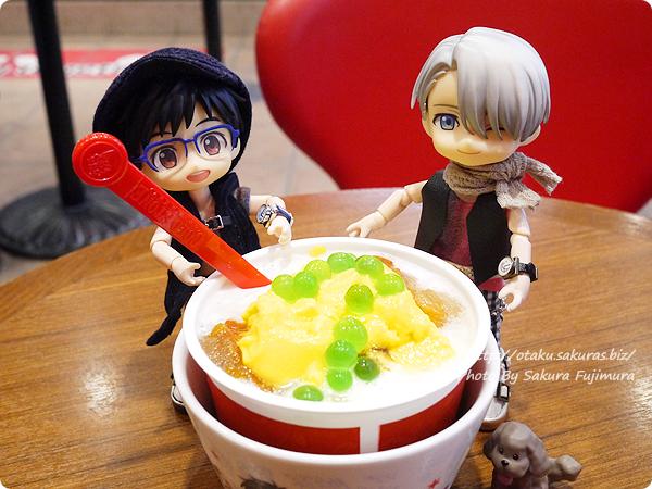 コールド・ストーン・クリーマリー (Cold Stone Creamery)  東京スカイツリー・ソラマチ店 ユーリ!!! on ICEコラボ 勇利 KATSUDO on ICE