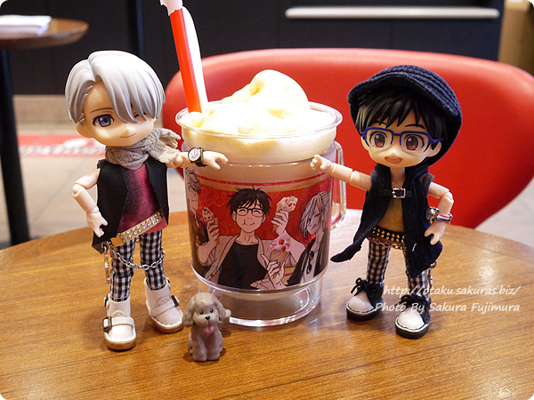 コールド・ストーン・クリーマリー (Cold Stone Creamery)  東京スカイツリー・ソラマチ店 ユーリ!!! on ICEコラボ ユリオ クーリーズ