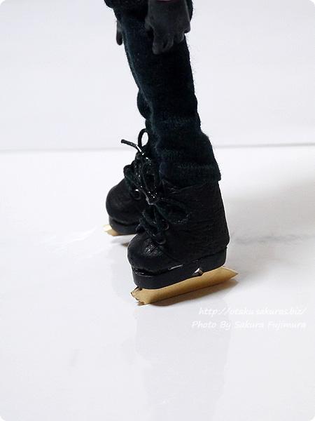 スケート靴ミニチュア オビツ11用ディーラー様製