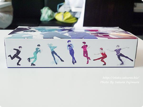 アニメ「ユーリ!!! on ICE」4DX  vol.1 来場者特典 ボックスティッシュ 側面