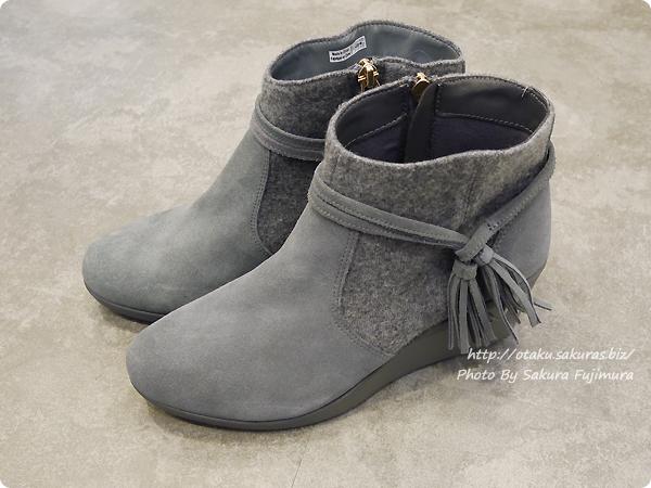 crocs(クロックス)2017秋冬新作 Women's Crocs Leigh Suede Mix Bootie クロックス レイ スエード ミックス ブーティ ウィメン Slate Grey