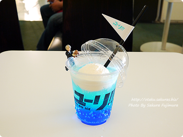 アニメ「ユーリ!!! on ICE」4DX 応援ドリンクとPUTITTO ユーリ!!! on ICE ヴィクトル(練習着)