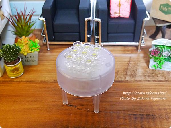 エポック社カプセルコレクション「シャンパンタワー」ガチャガチャ グラスタワー 積み上げる