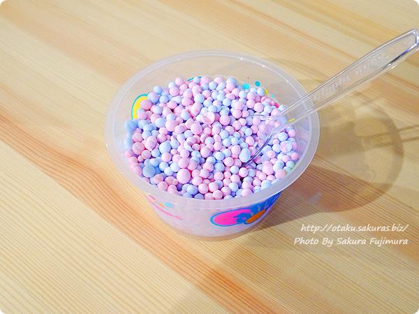 【一番カフェ アイス】ユーリ!!! on ICE × サンリオキャラクターズセガ新宿歌舞伎町店 【離れずにそばにいて】わたがし味