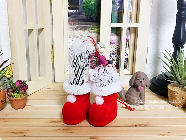 クリスマス「ミニミニブーツ」中身に好きなものを入れてもOK