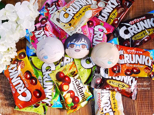 ユーリ!!! on ICE×ロッテコラボで買ったチョコたち