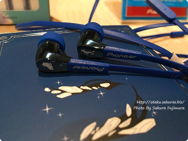 ユーリ!!! on ICE×Pioneer(パイオニア)イヤホン公式コラボモデル Pioneer SE-CL722T イヤホン ユーリ!!! on ICE コラボ 勝生勇利モデル イヤホンアップ