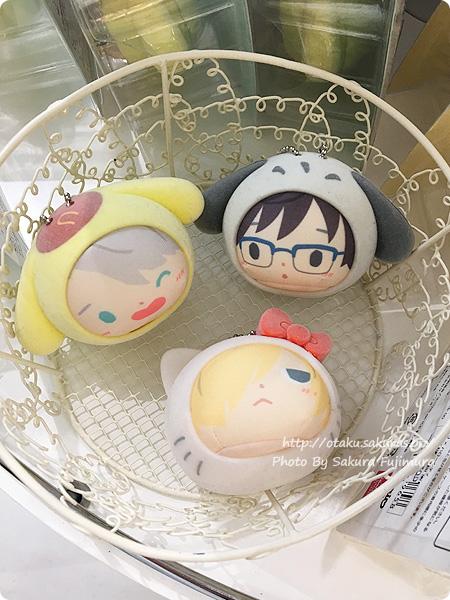 Sanrio now!!!(サンリオナウ)ユーリ!!! on ICE×サンリオキャラクターズ「WINTER FESTIVAL」店頭その3