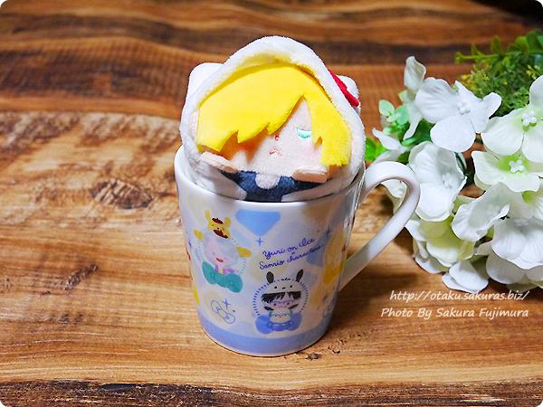 Sanrio now!!!(サンリオナウ)ユーリ!!! on ICE×サンリオキャラクターズ「WINTER FESTIVAL」テーパーマグカップ②全員集合