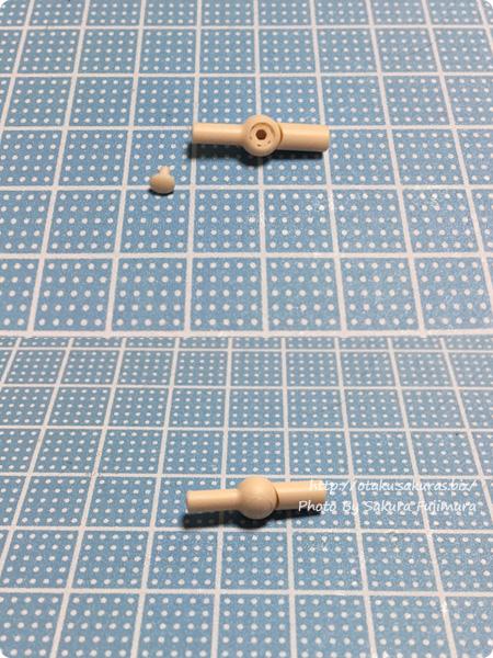 「ホビーベース 関節技 球体ジョイントミニ」6mm球特殊軸組み立て その2