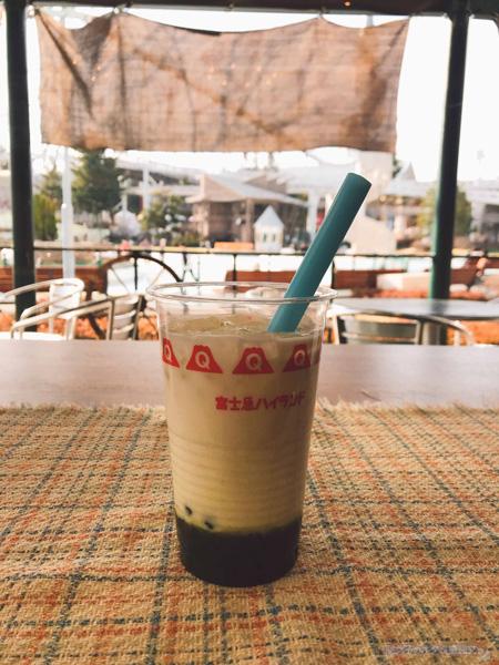 【進撃の巨人×富士急ハイランド】エレンの抹茶オレ600円