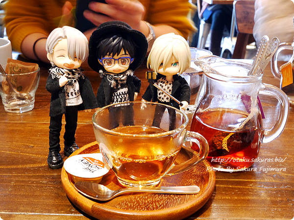 YOIオビツろいどとツイッターのフォロワーさんとお茶