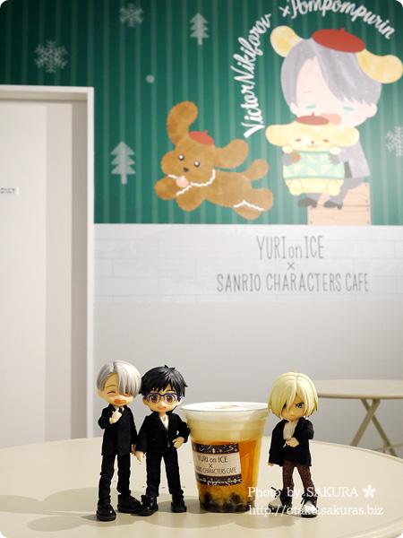 ユーリ!!! on ICE×サンリオコラボカフェ「Yuri on Ice×Sanrio characters Cafe」第2弾 一階