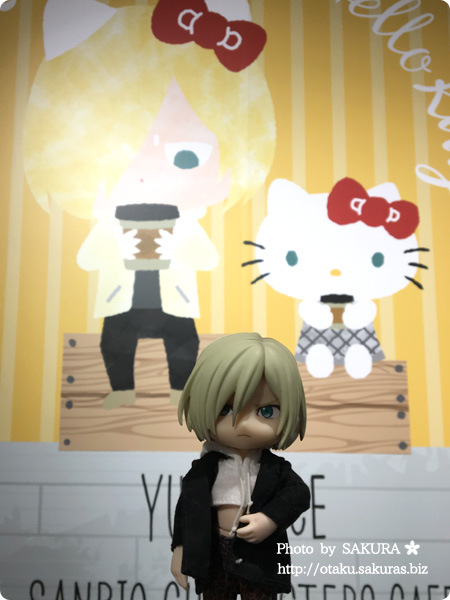 ユーリ!!! on ICE×サンリオコラボカフェ「Yuri on Ice×Sanrio characters Cafe」第2弾 YOIオビツろいどユリオ