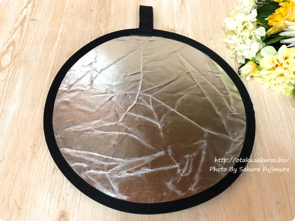 HAKUBA(ハクバ 撮影補助用品 レフ板プロ 12インチ 表面シルバー/裏面ブラック 表面全体